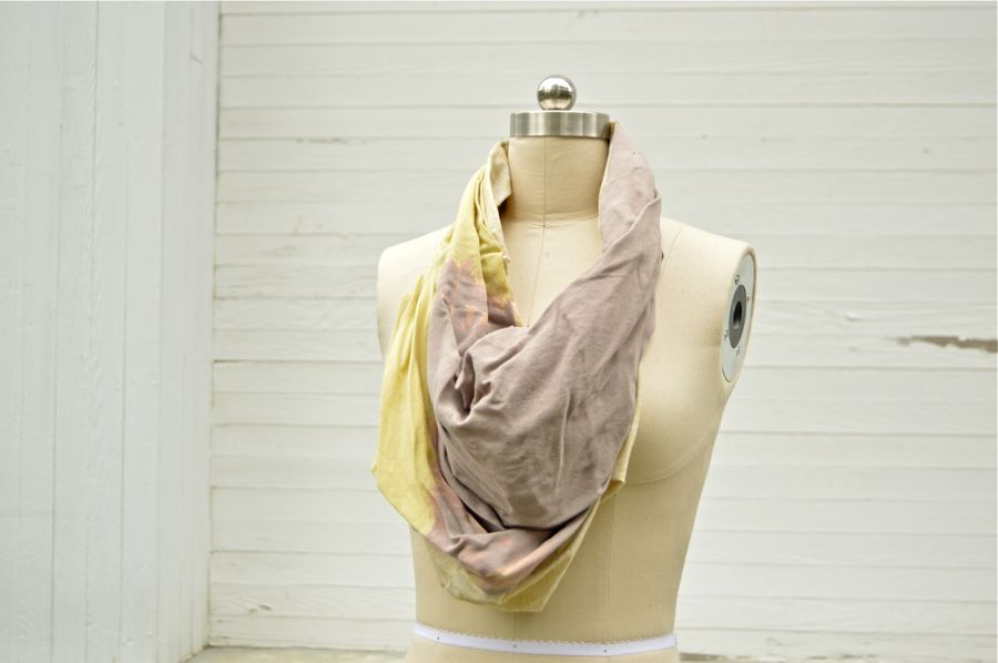 Yellow Ombre Paige Cowl Scarf via RUBA RUBA Designs. Click on the image to see more!