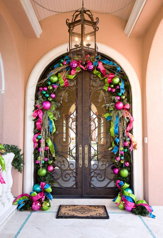 Colourful Xmas Decorations