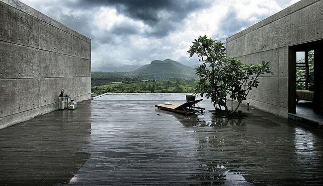 La maison de vacances Khopoli house ou la fusion entre nature et