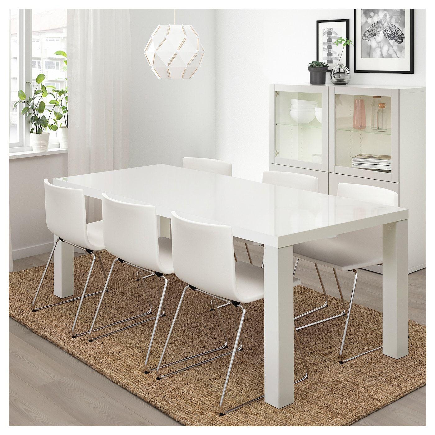 Hoogglans Tafel Met Stoelen.Toresund Tafel Ikea Tafel Ikea En Placemats