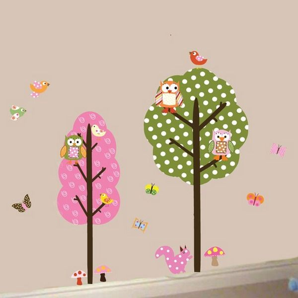 Kids Room Wall Design wall painting kids room design cute butterfly Image Detail For Simple Kids Wall Decals Design Inspirations Best Wall Murals