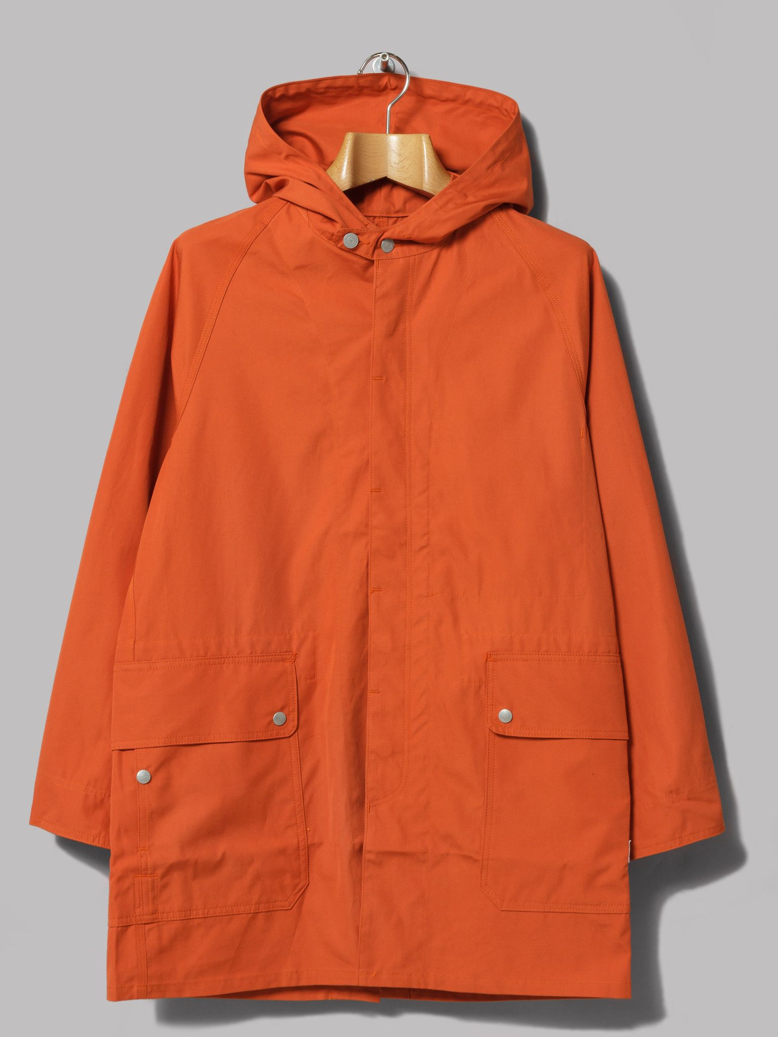 Sassafras Fall Leaf Bud Coat (Orange Weeds Poplin) | Garms Trade ...
