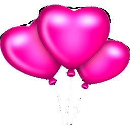 08 B'Day Girl Heart Balloons 2.png