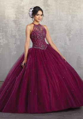 Vestidos De Xv Color Vino En 2019 Vestidos Color Vino
