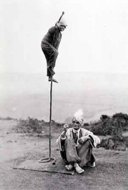 Indian rope trick ca. 1890