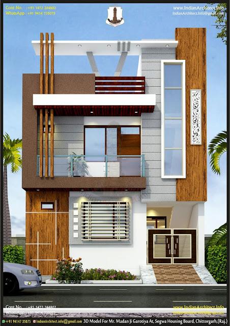 P544 Mr Madan Garotiya South Facing With Modern Elevation 25 x50 1250 Sqft