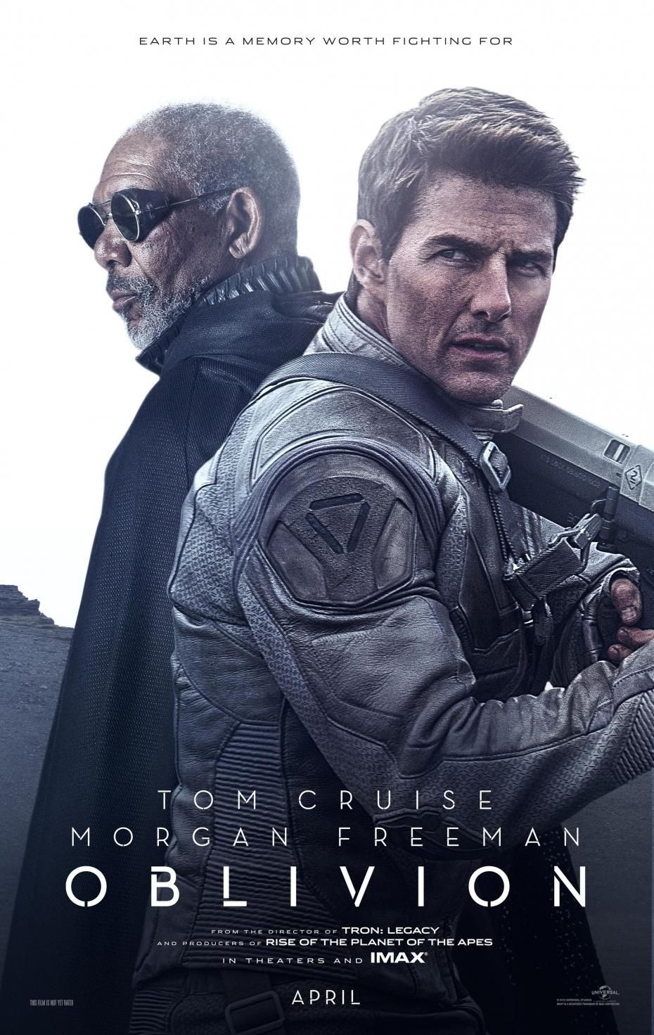 Tom Cruise Oblivion Morgan Freeman Filme Oblivion Posters De