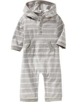 0cfa5737a0e8 Patterned Hooded One-Pieces for Baby