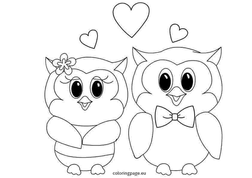 Coloring Festival Valentines Day Coloring Pages Owl Skull More