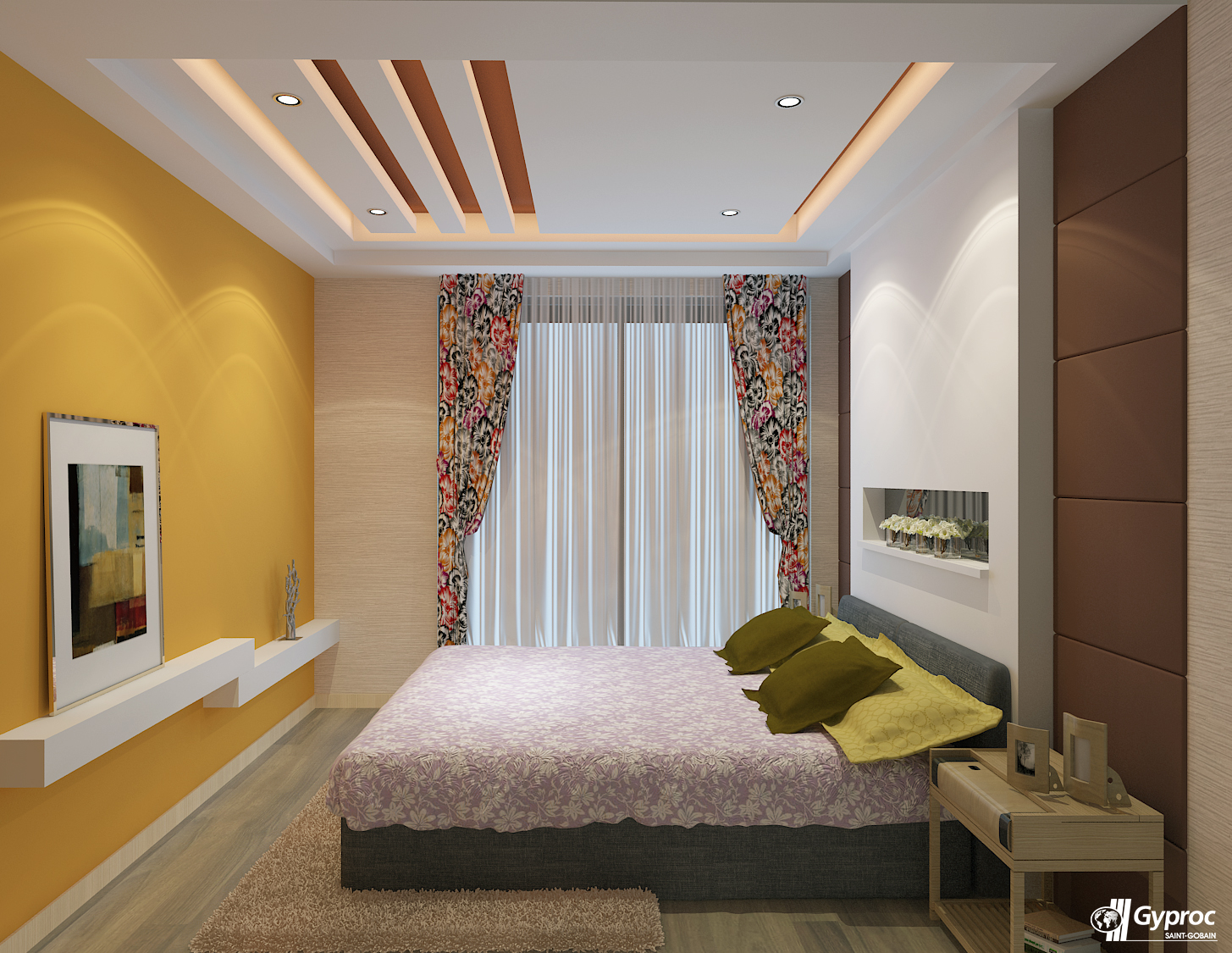 Bedroom Ceiling Interior Gyproc Falseceilings Are The Perfect Way To Give Your