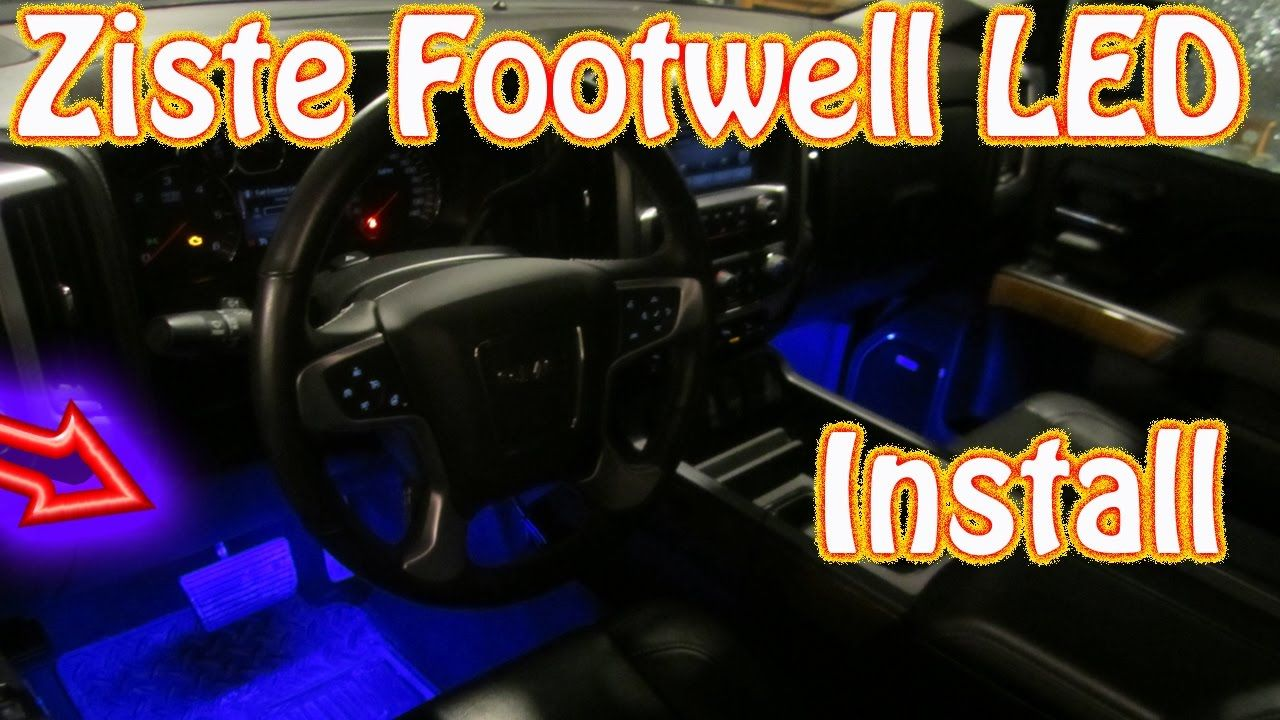 Diy Ziste Footwell Led Installation How To Install Automotive Elantra Electrical Troubleshootin G Manual Wiring Daigrams 97 Gls Interior