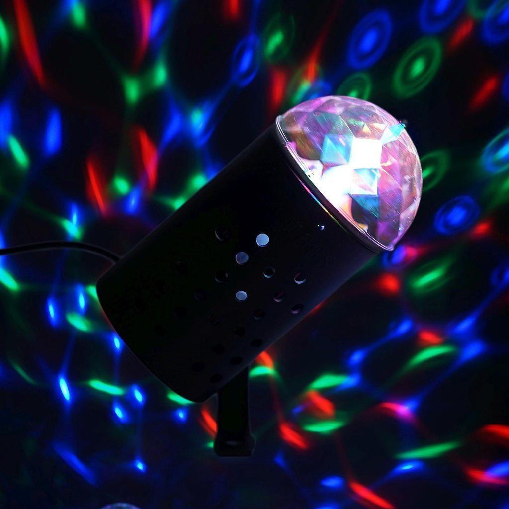 Auto Rotating Led Mini Crystal Disco Ball Light Disco Ball Light Ball Lights Led Disco Ball