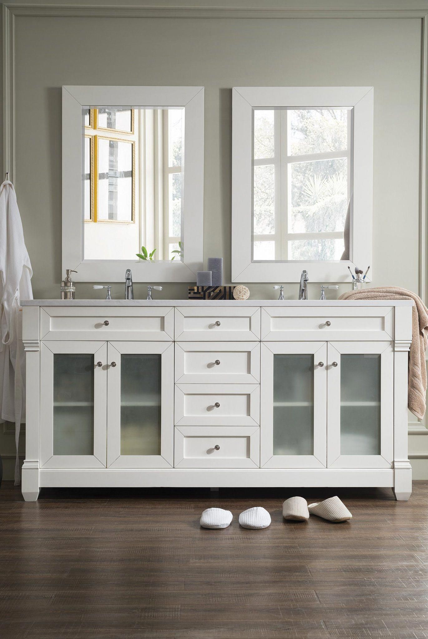 Weston 72 Double Bathroom Vanity Double Bathroom Vanity James