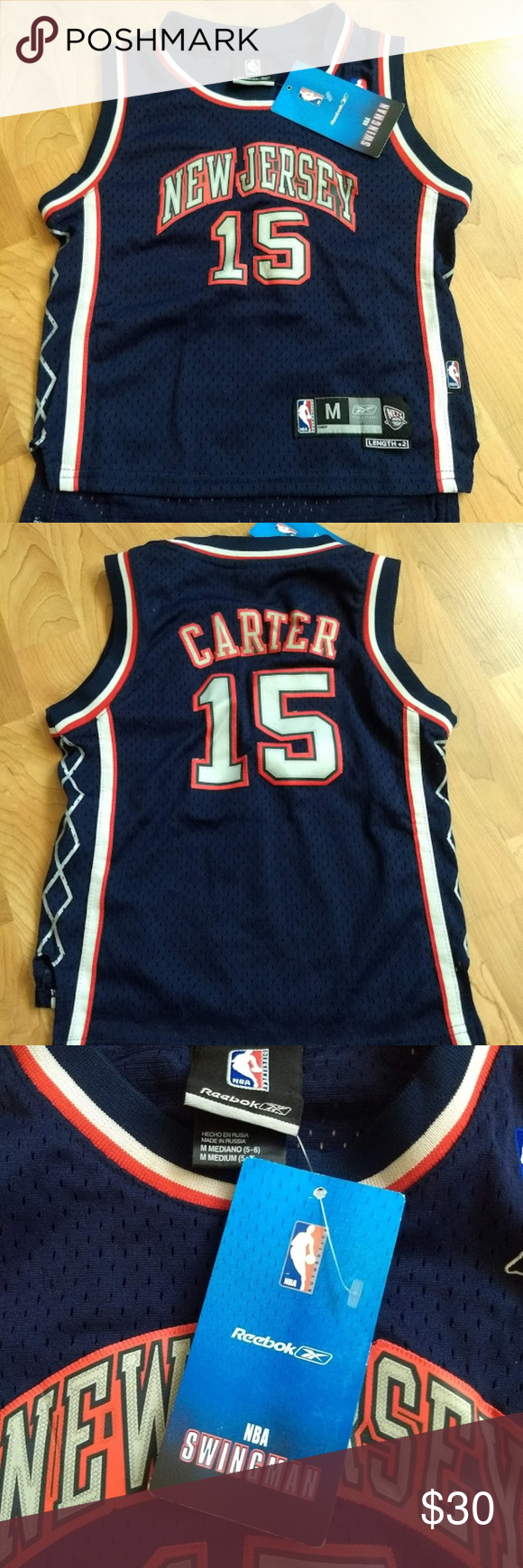 new product 7196c d2b43 Vince Carter Kids Boys Girls New Jersey Nets Brand New. With ...