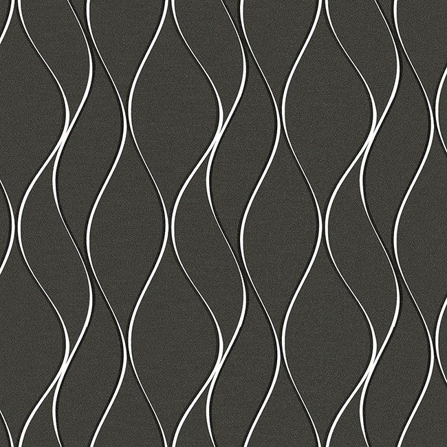 Modern wallpaper in silver design by york wallcoverings for Modern textured wallpaper