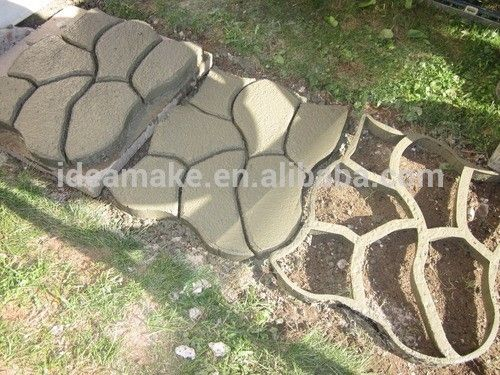diy molde para pavimento caminos camino paso a paso molde molde pavimento de hormign de plstico