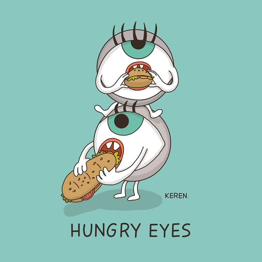 4.Hungry eyes