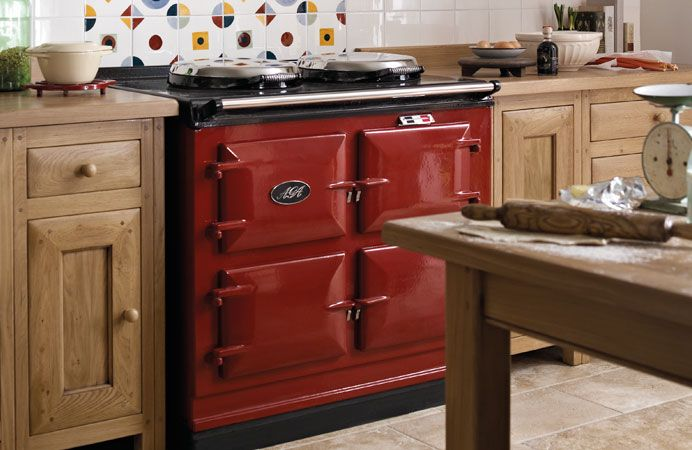 charming Aga Kitchen Appliances #4: 17 Best images about Red Enamel Range Cookers and Red Aga Stoves for Great  Kitchen Style on Pinterest | Stove, Range cooker and Cooker hobs
