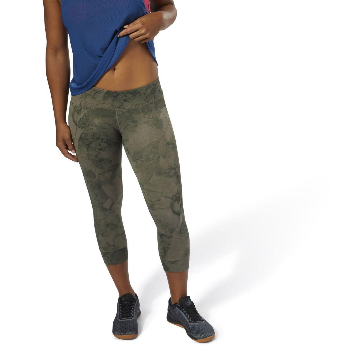 Reebok Collants Lux Reebok CrossFit Stone Black   Reebok