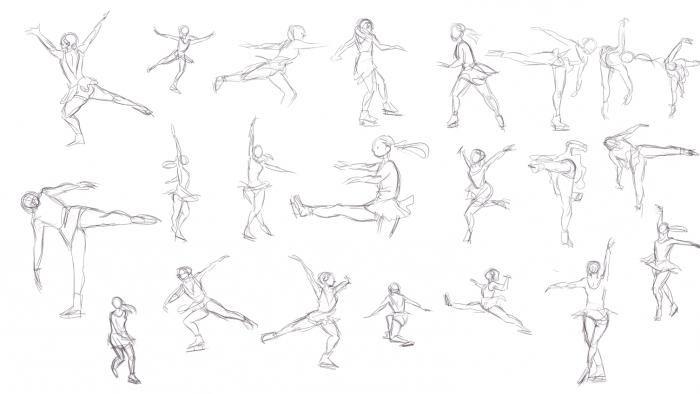 рисунок человек в движении - Поиск в Google | Рисунок