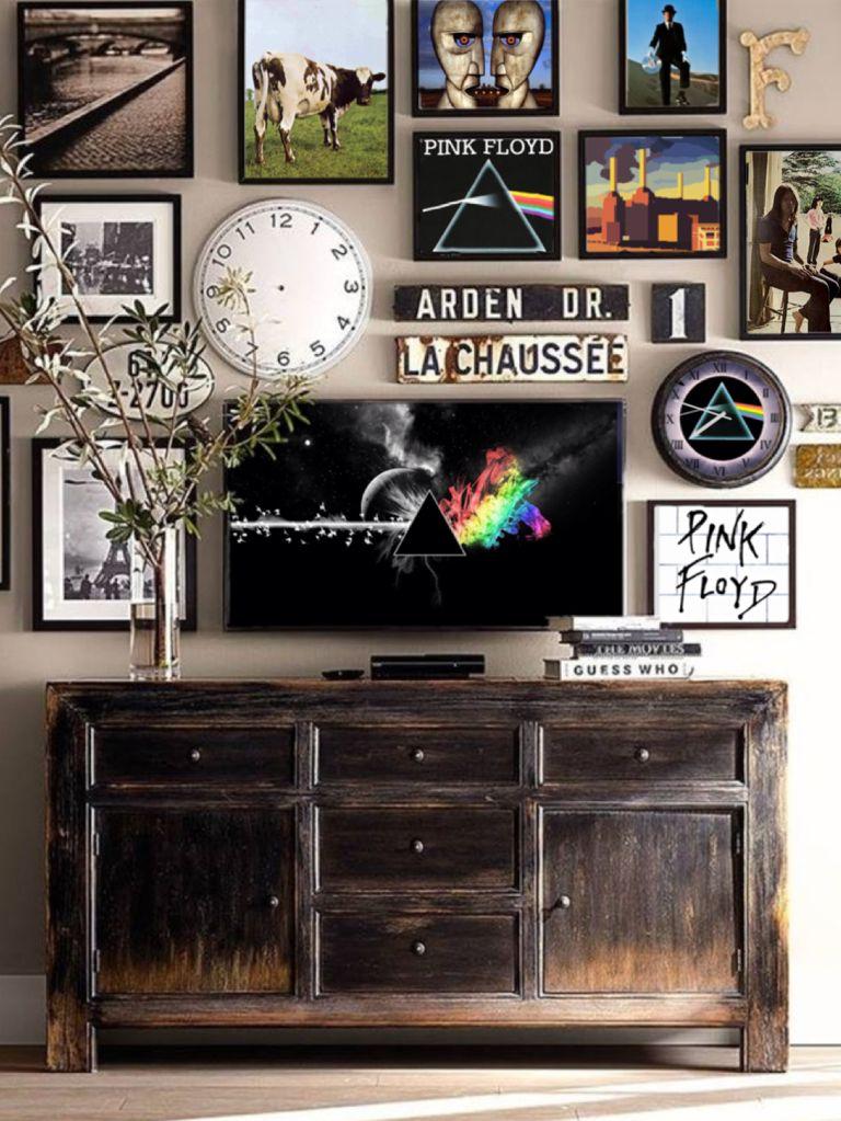Pinkfloyd Acidalarmclock With Images Pink Floyd Bedroom