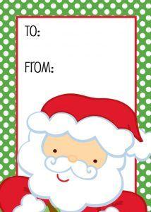 Free santa claus christmas gift tags christmas gift tags free santa claus christmas gift tags printable negle Image collections