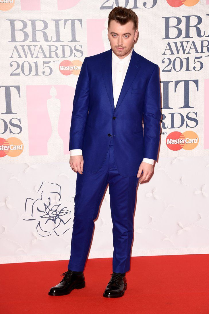 Pin for Later: Seht alle Stars bei den BRIT Awards! Sam Smith