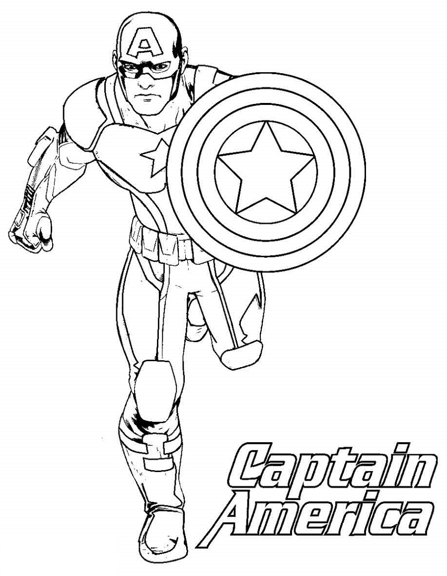Captain America Shield Coloring Page To Print Captain America Coloring Pages Superhero Coloring Pages Avengers Coloring Pages