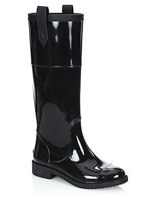 8135ac0122 Jimmy Choo Edith TPZ Rain Boots | Benefit Boots | Bootie boots, Rain ...