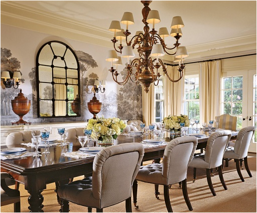 French Country Dining Room  Love The Chairs  Be Our Guest Adorable French Country Dining Room Decorating Ideas Decorating Inspiration