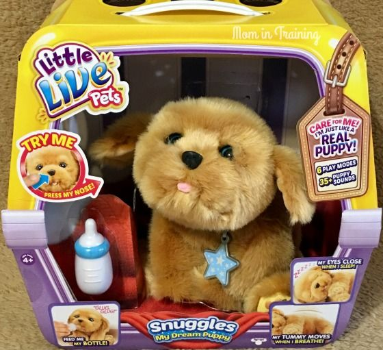 Mom In Training Toys That Let Their Talents And Imagination Shine Little Live Pets Animated Plush Puppy Soft Toy