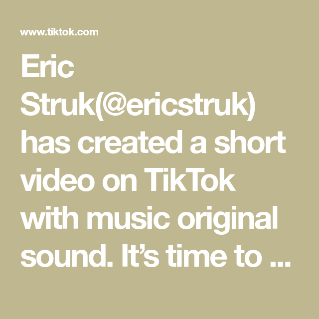Eric Struk Ericstruk Has Created A Short Video On Tiktok With Music Original Sound It S Time To Say Goodbye To 2019 And The Best Meme Best Memes Music Video