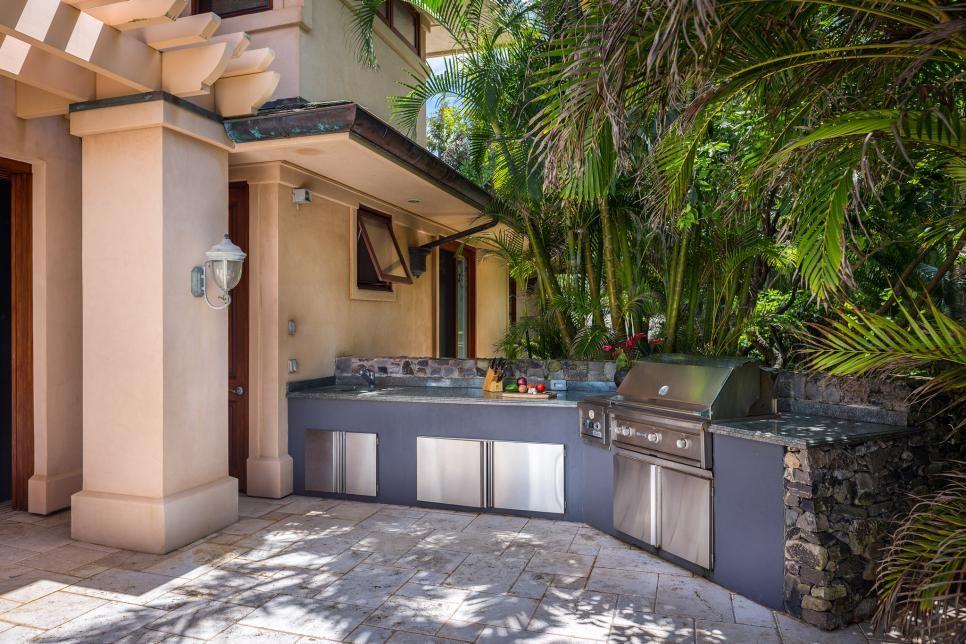 Moderne Outdoor Küchen : Outdoor küchen ideen