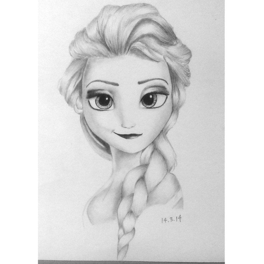 Elsa From Frozen Elsa Frozen Tumblr Drawing Frozen Elsa