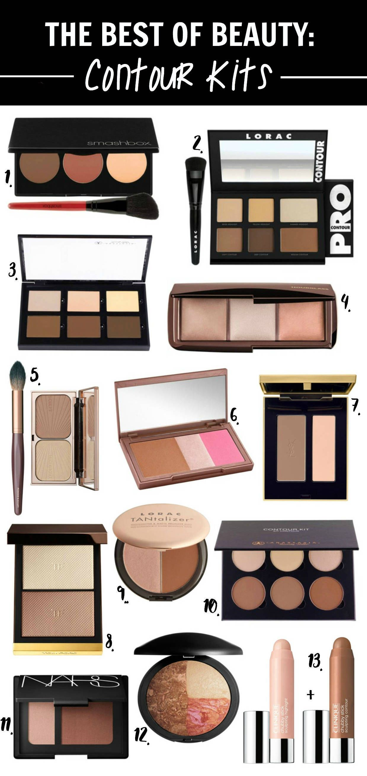Beauty blogger mash elle has rounded up the best contour kits on the