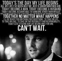 karevs wedding speech