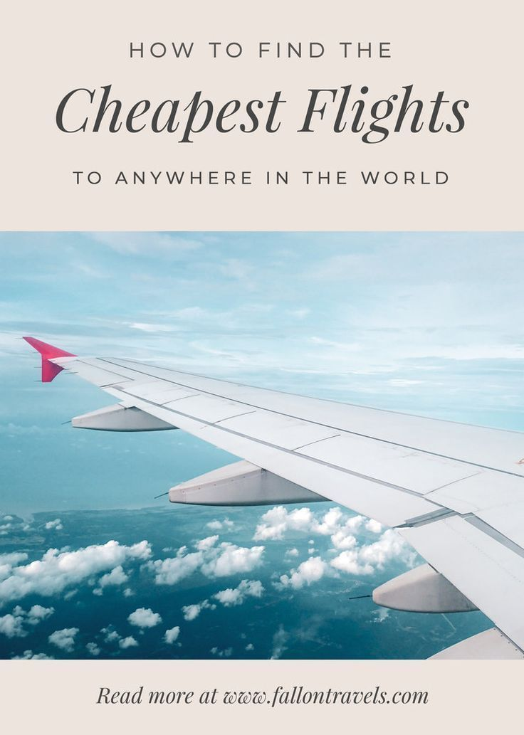 Find Cheap Flights - Discover hacks and tips on how to find cheap flights to anywhere in the world. Use the best flight search engine website. How to book ahead and don't buy last minute. Find the cheapest day to fly out. Use budget airlines. How to get airline tickets for free with rewards points. Find the cheapest travel destinations to fly. How to buy flights yourself for less with non-direct routes. Discounts for students and more. #cheapflights #fallontravels