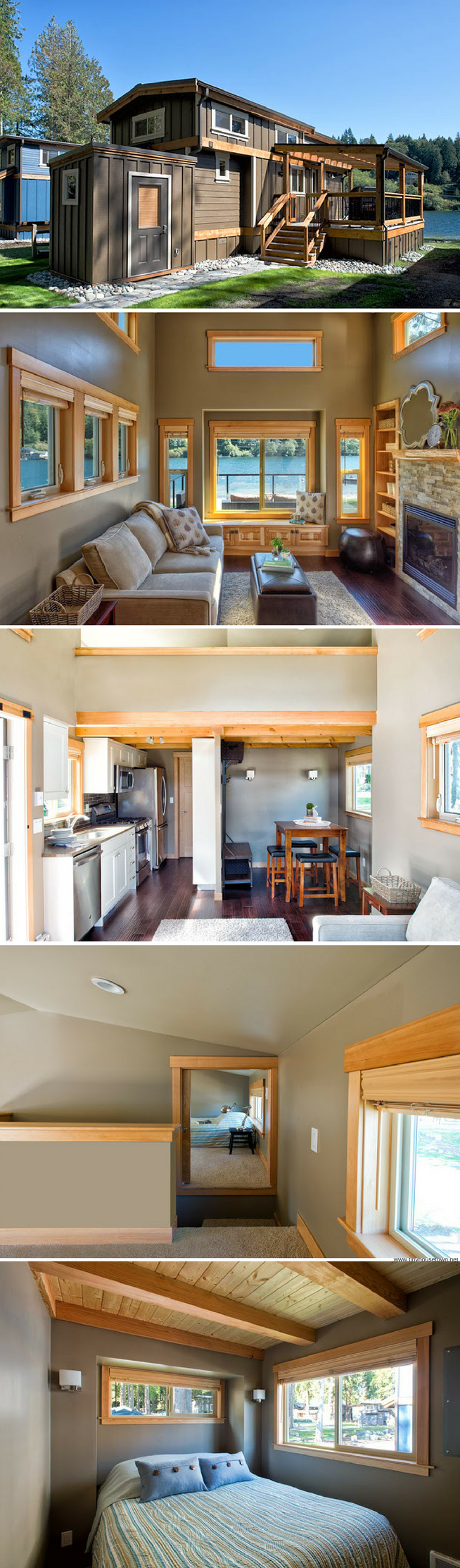 the minnesota prarie cottage 207 sq ft a tiny house deigned for