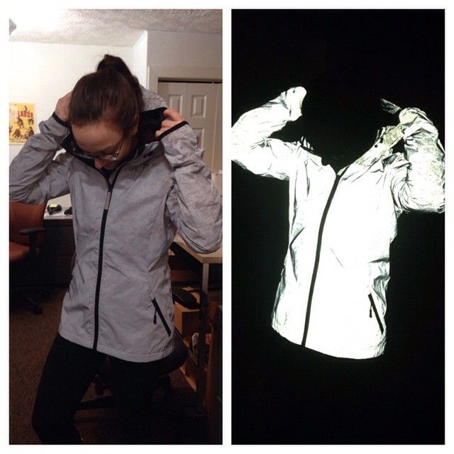 A Jacket To Be Seen In Reflective Clothing Jackets Activewear Inspiration