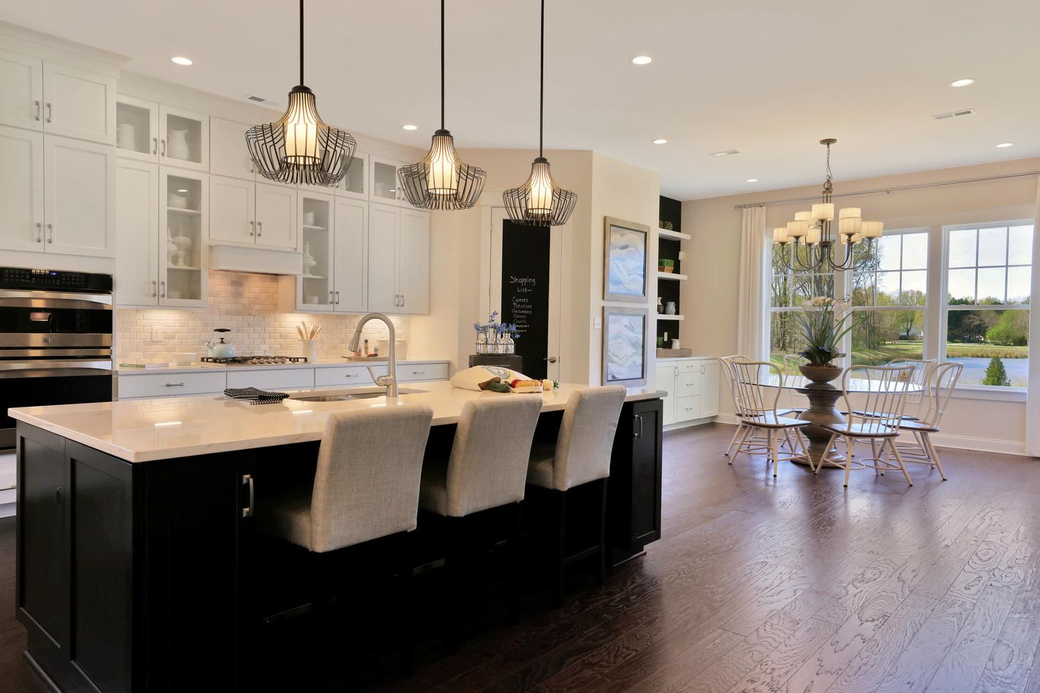 Pin By Hhhunt Homes On Stunning Kitchens Luxury Living Kitchen Affordable Luxury