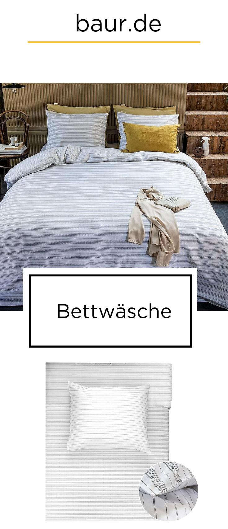Wendebettwäsche »Head over Lines«, Walra kaufen in 2019 | Bettwäsche ...