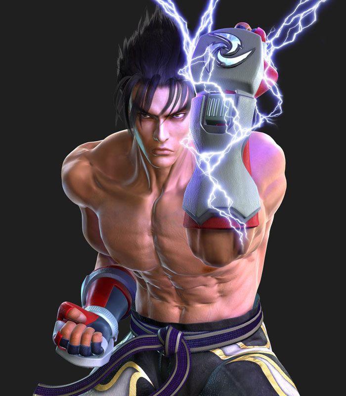 Jin Powering Fist Characters Art Tekken 5 Jin Kazama Tekken 3 Martial Arts Games