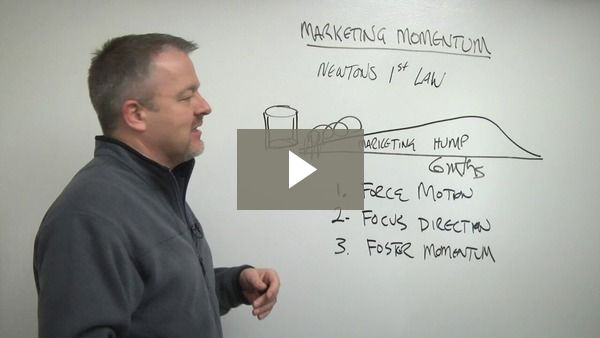 Marketing momentum is required to build a significant lead generation pipeline. In this episode of Thrive in 5 I discuss how to build marketing momentum for yourself.