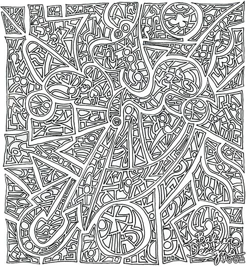 Insane Doodles From My Past Pattern Coloring Pages Coloring Pages Colouring Pages