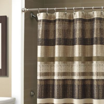 Croscilla Portland 54 Inch X 78 Inch Stall Shower Curtain In