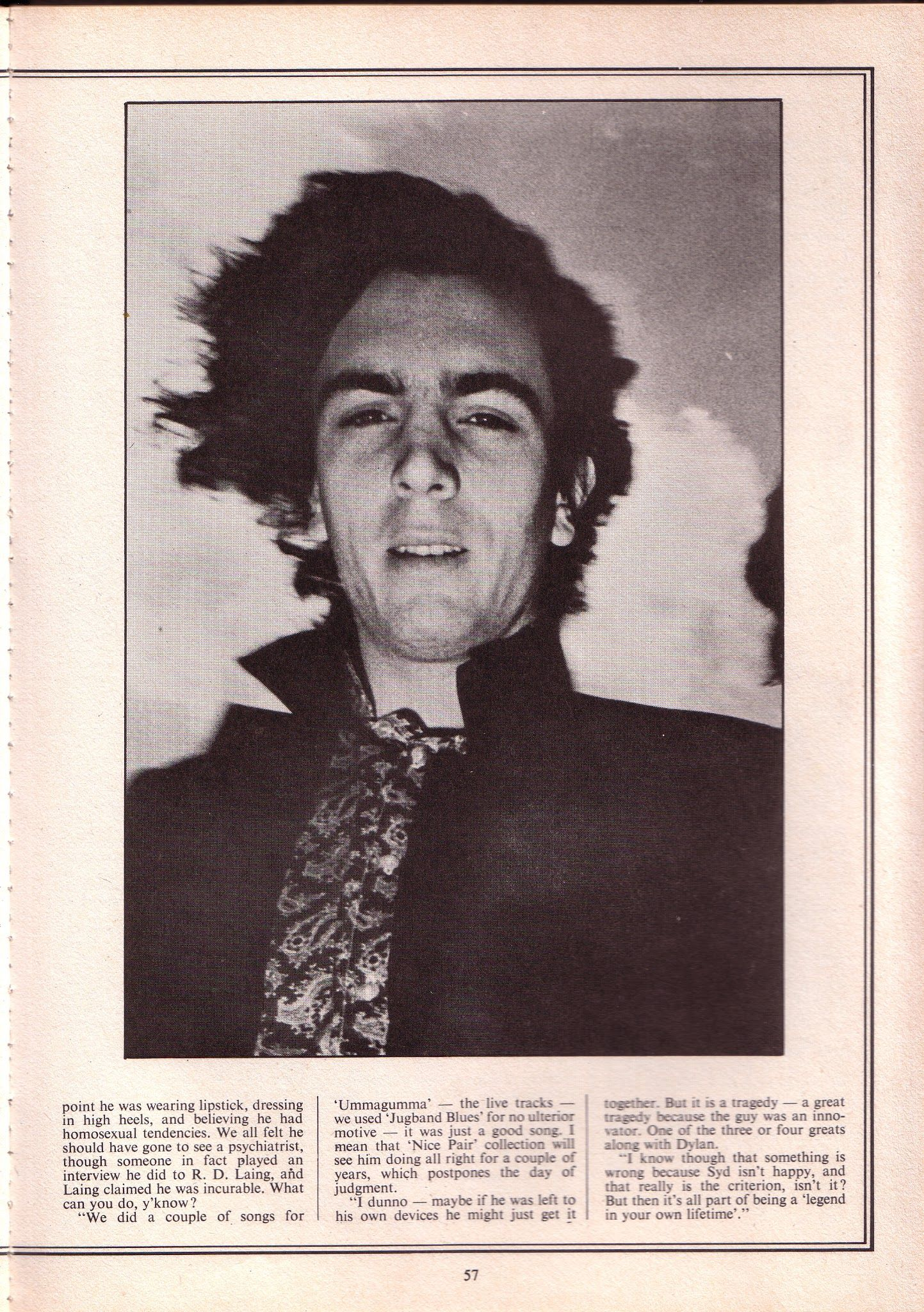 Articulo Sobre Syd Barrett With Images Pink Floyd Barrett Floyd