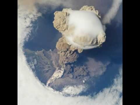 NASA | Sarychev Volcano Eruption from the International Space Station.