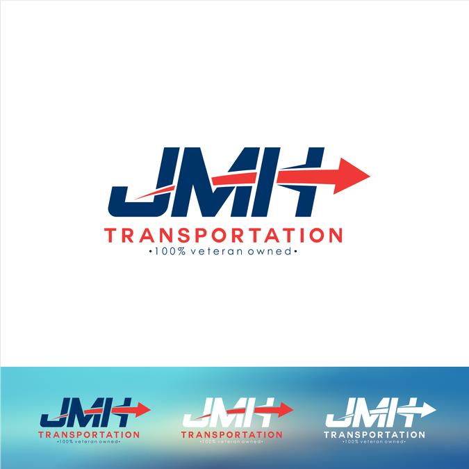 Jmh Transportation Business Logo By Gedhang Goreng Business Logo Internet Logo Logos
