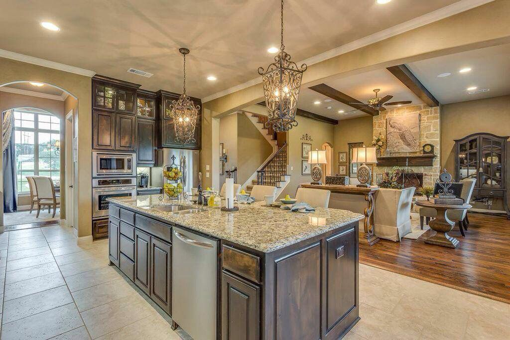 John Houston Custom Homes Home Sweet Home Pinterest House Kitchen Dining And Kitchens