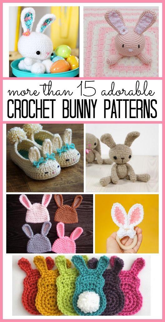 Crochet Bunny Roundup   Patrones amigurumi, Patrones y Cosas